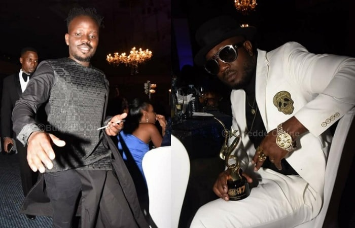 Brian Ahumuza aka Abryanz the CEO of ASFAs with Bebe Cool