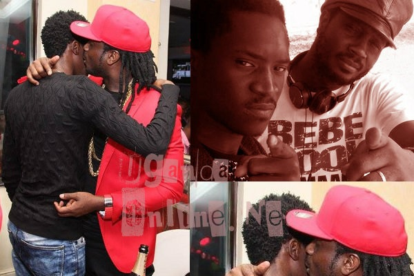Bebe Cool pecks Apass at Club Amnesia