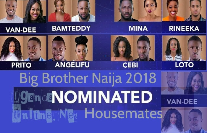 First set of housemates that are up for eviction in the BBNaija house 2018