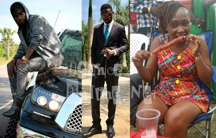 Female fan, Bettina desperately missing Bobi Wine the artist
