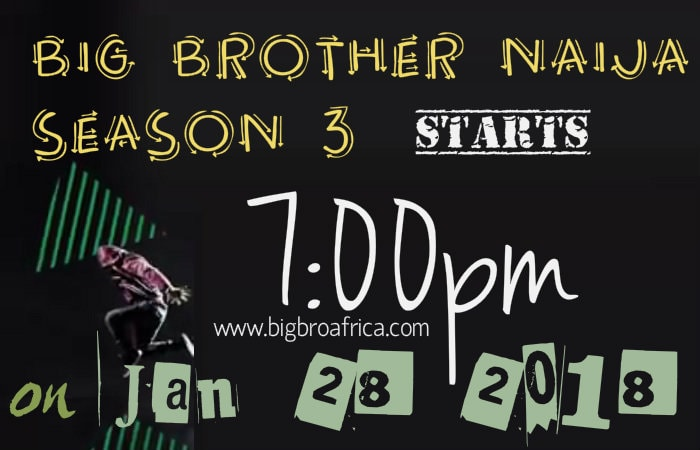 Big Brother Naija season 3 starts this January