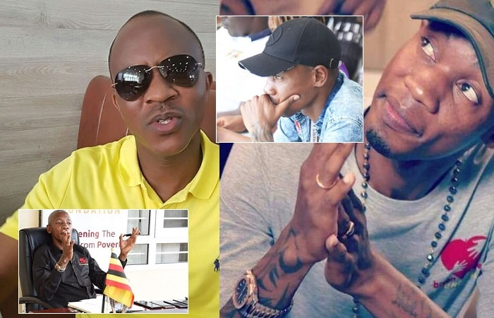 Bryan White is now on Frank Gashumba's case