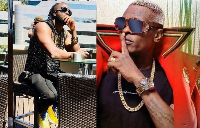 Chameleone has responded to Bebe Cool's list with his own songs