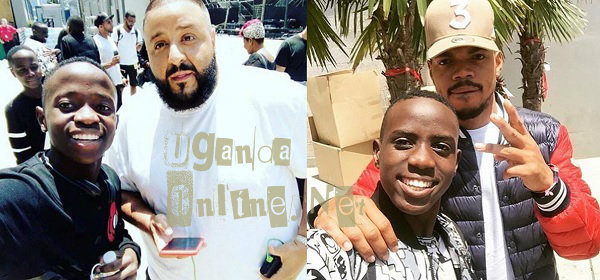 Triplets Ghetto kid strikes a pose with DJ Khaled and Chance the Rapper