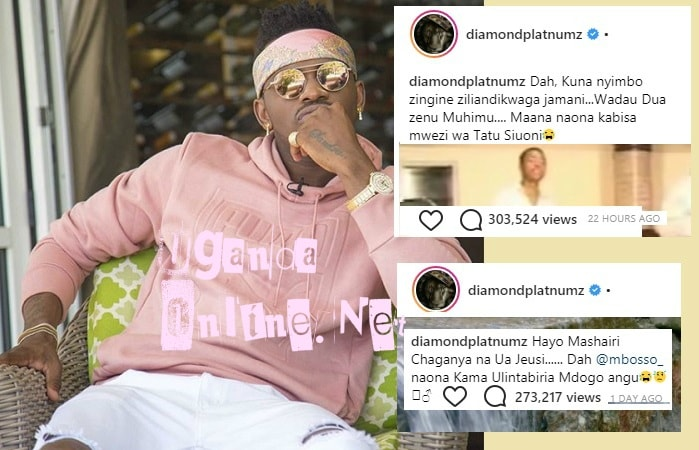 Diamond Platnumz on suicide watch