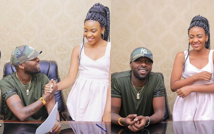 It's a deal between Eddy Kenzo and Pia Pounds