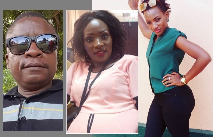 Eddy Sendi and Fifi Da Queen go personal over the issue of Qute Katye