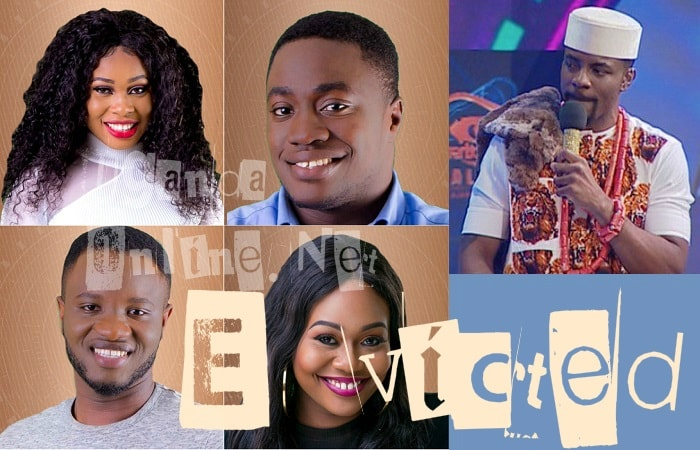 Princess, Britto, Dee-One and Vandora were evicted from the BBNaija house