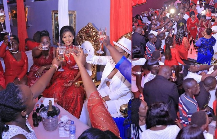 Hamisa Mobetto, Sheila Don Zella and Mama Phiina raised their glasses to a successful party