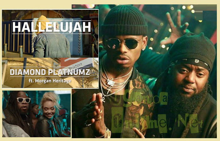 Hallelujah video by Diamond Platnumz ft Morgan Heritage
