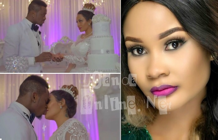Hamisa Mobetto in shock after Platnumz releases the Iyena wedding theme video with Zari