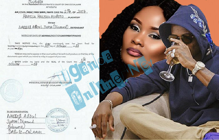 Hamisa Mobetto sues Diamond Platnumz for child neglect
