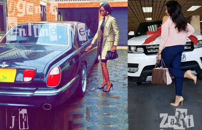 Faded socialite Judith Heard pulls out her old Bently to compete with Zari