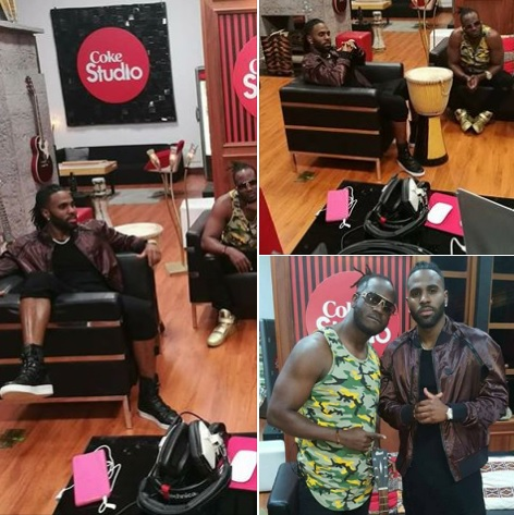 Jason Derulo and Bebe Cool in Nairobi