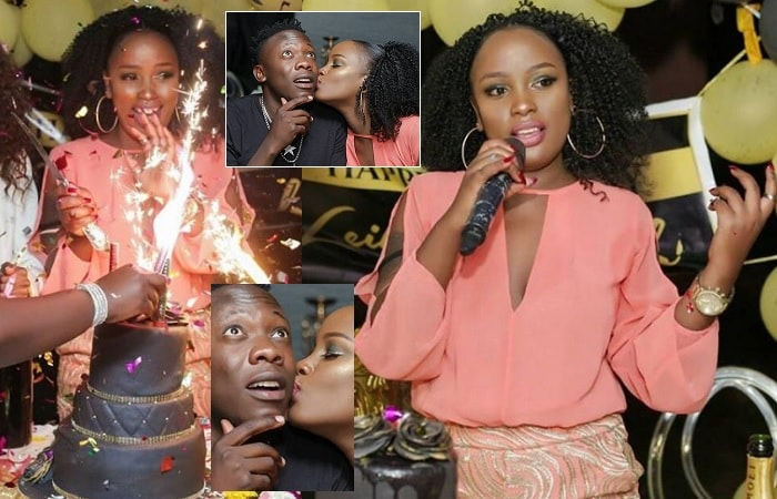 Leila Kayondo during her birthday celebrations