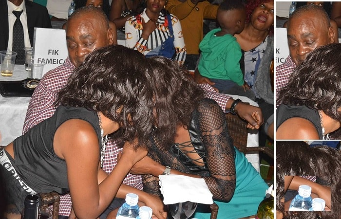 Mahogany tries to get some breathng space as the slay queens planned for hin