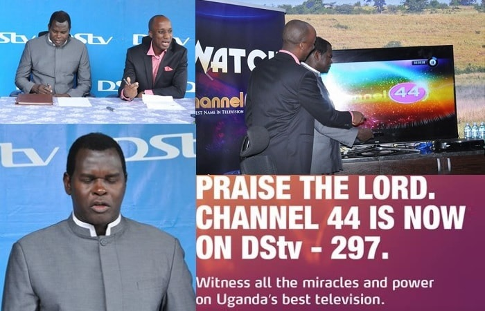 Pastor Kayanja's Channel 44 tv can now be found on channel 297