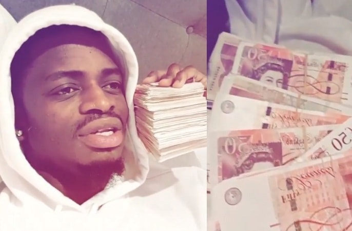Diamond Platnumz is all excited about his UK show