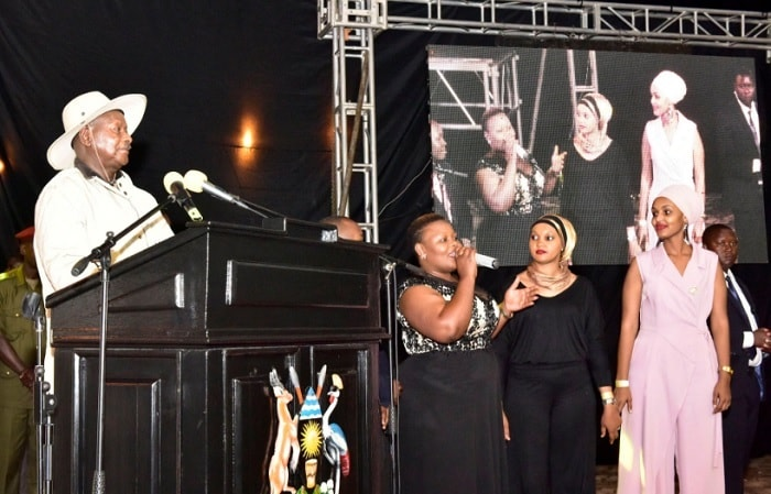 President Museveni told Catherine Kusasira to redo the Kino Kye Kiseela revolutionary song