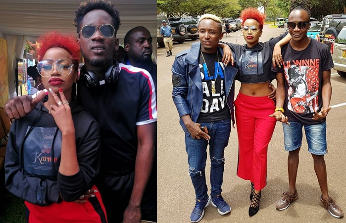Sheebah Karungi and Mr. Eazi