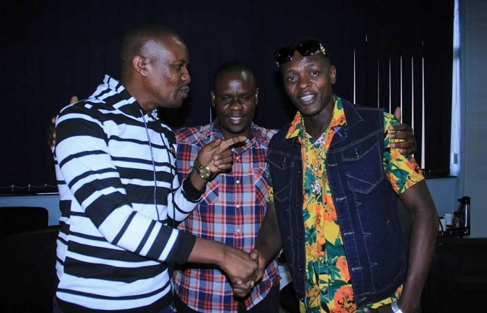 Sseguya and Chameleone bury the hatchet