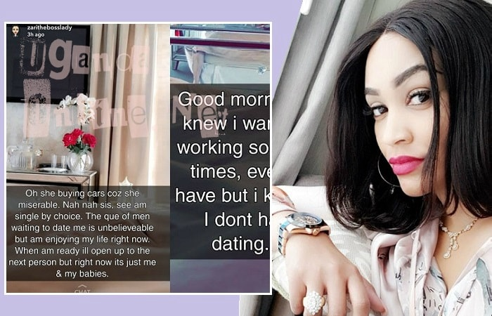Zari hits back at those saying she did not buy the Range Rover Sport