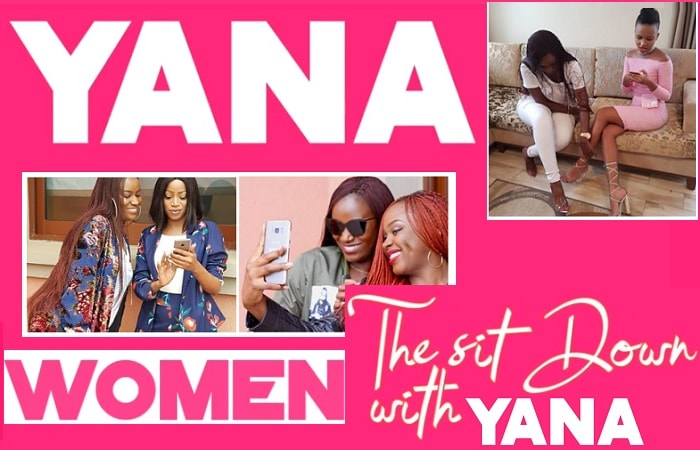 Juliana Kanyomozi's online show dubbed The Sit Down With YANA