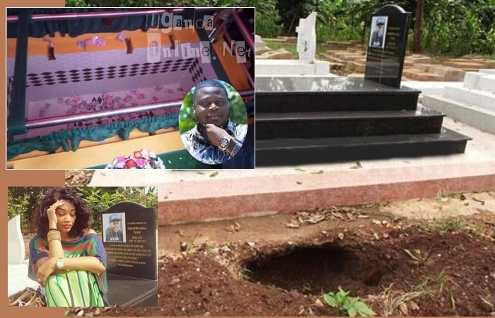 Dogs were able to disrupt the thugs who were digging up Ivan Semwanga's grave