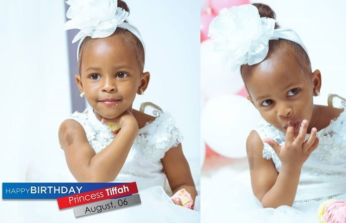 Diamond Platnumz and Zari's daughter turns 3 on August 6, 2018
