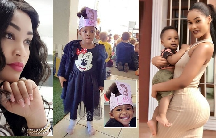 Zari's daughter Tiffah and Hamisa's son Dylan were born in August