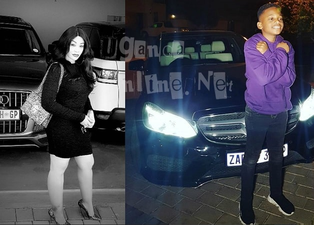Zari and her recently acquired rides, An AUDI, Range Rover Sport and a Merc CDI 240
