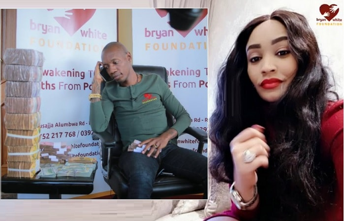 Zari confirms she will be with Bryan White for the Arua week-long activities