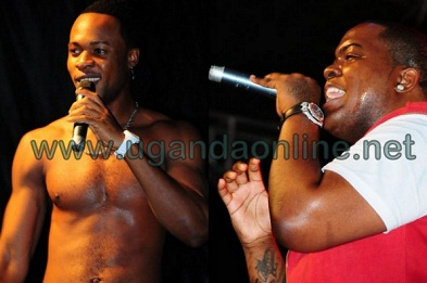 Mr. Flavour and Sean Kingston at Lugogo Cricket Oval