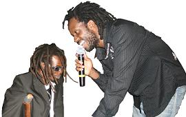 Buchaman and Bebe Cool