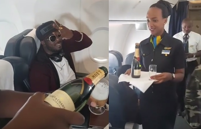 Bebe Cool's surprise birthday treat on board
