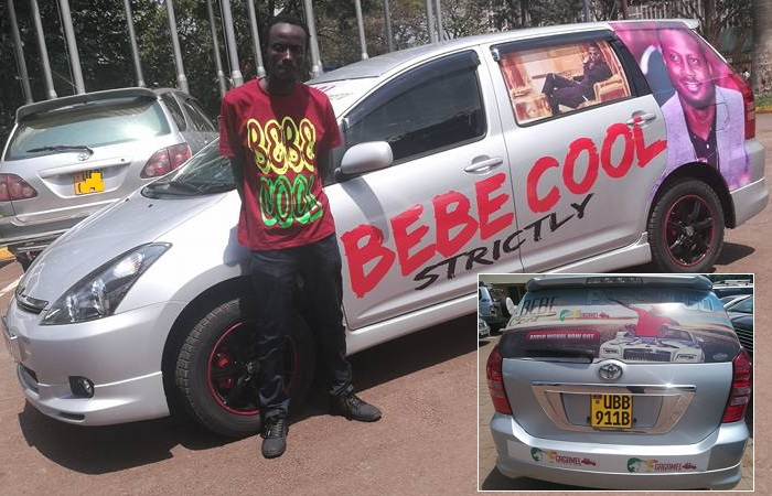 Bebe Cool rewards Kleberson with Toayota WISH