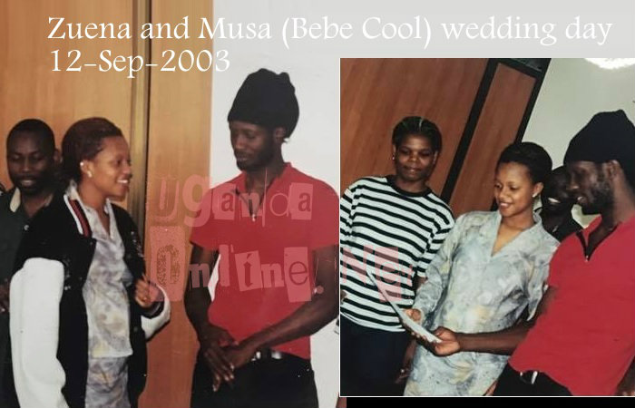 Zuena shares their wedding pic of 14 years back