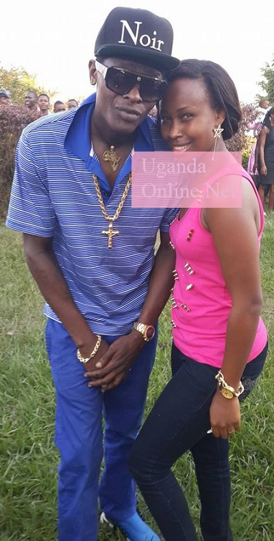 Chameleone and Barbie strike a pose