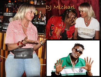 Cheri with DJ Michael