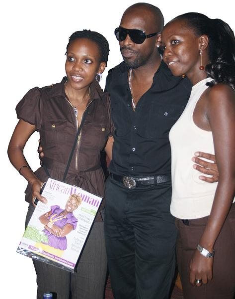 Cleopatra, Joe and Brenda of African Woman