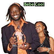 Bebe Cool and Wife, Zuena at one of the PAM Awards ceremonies