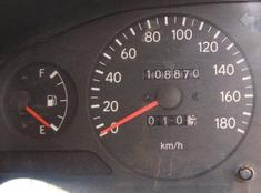 Fuel Gauge indicating Empty or better still Enough