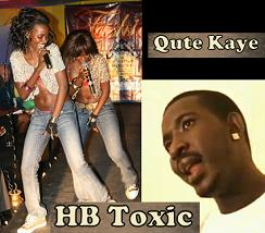 HB Toxic, Qute Kaye Biff Over Volts Contract