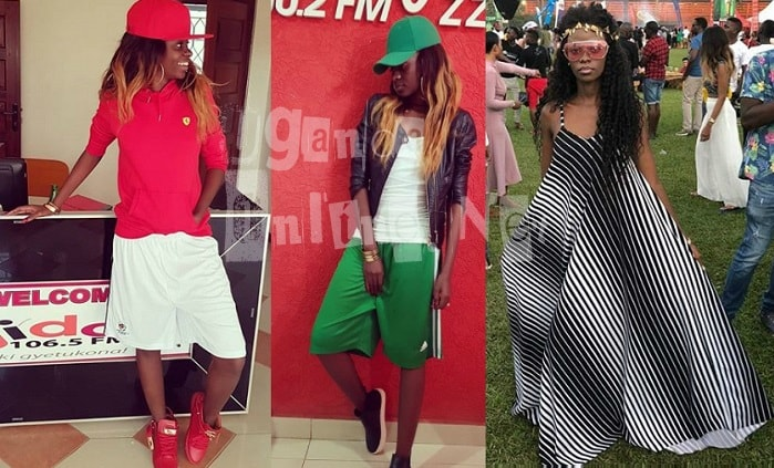 Hellen Lukoma has take to shorts and long outfits