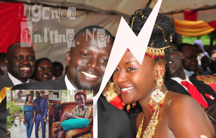 It's over between Gerald Ojok and Anne Kansiime