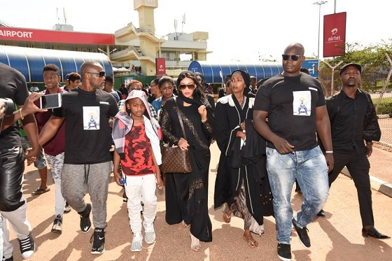 Bouncers at hand to ensure Zari's security