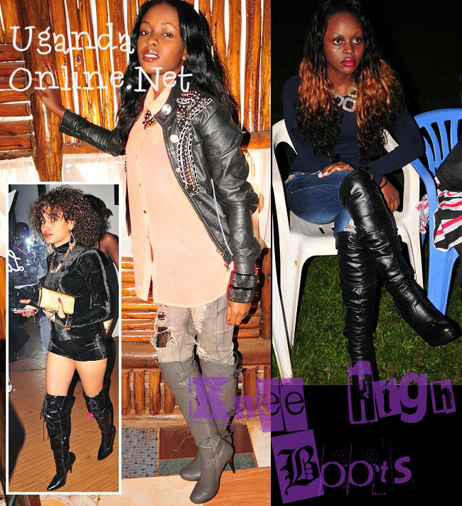 Our gals rocking knee high boots