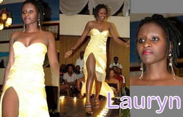 Lauryn on the Catwalk