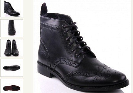 Stunning Men's leather boots