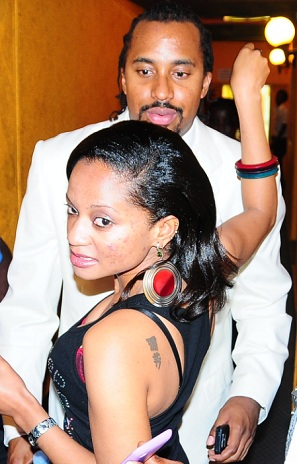 Navio being received at Club Silk recently